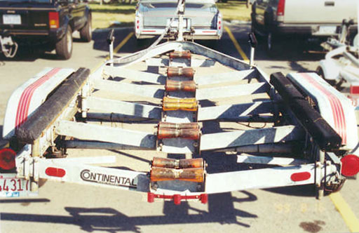 Classic Whaler Boston Whaler Reference Trailering